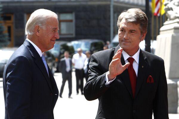 Президент Украины Виктор Ющенко оценил визит вице-президента Джозефа Байдена как чрезвычайно успешный.