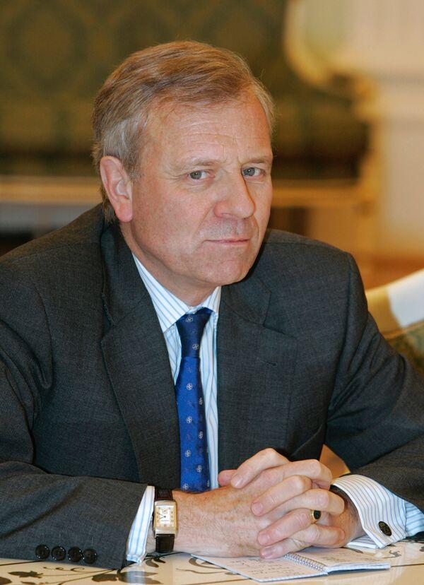 Генеральный секретарь НАТО Яап де Хооп Схеффер