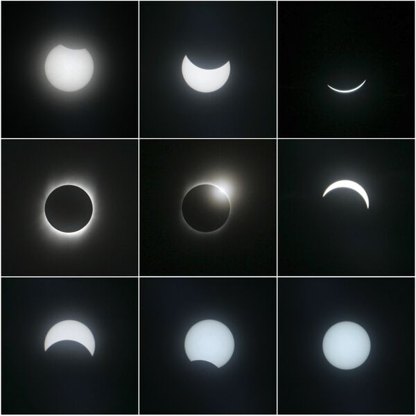 Солнечные затмения. Справка