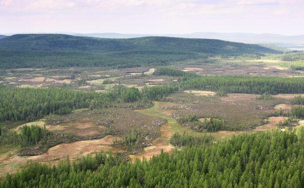 Сто лет назад Тунгусский метеорит упал в районе реки Подкаменная Тунгуска