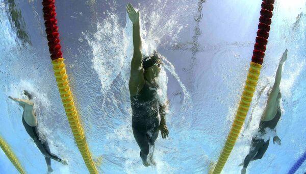 Китайские пловчихи выиграли эстафету на ЧМ с мировым рекордом