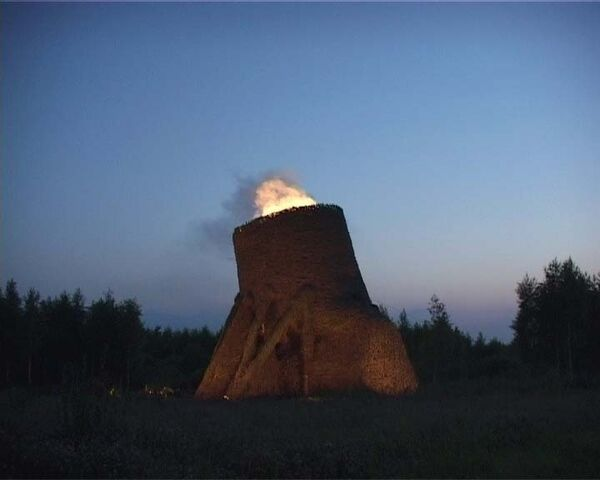 Во время Архстояния в Калужской области проснулся вулкан
