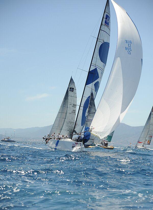 Российские яхты заняли два последних места в регате Copa Del Rey