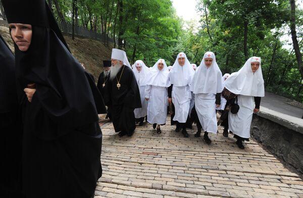 Начался 10-дневный визит Патриарха Кирилла на Украину