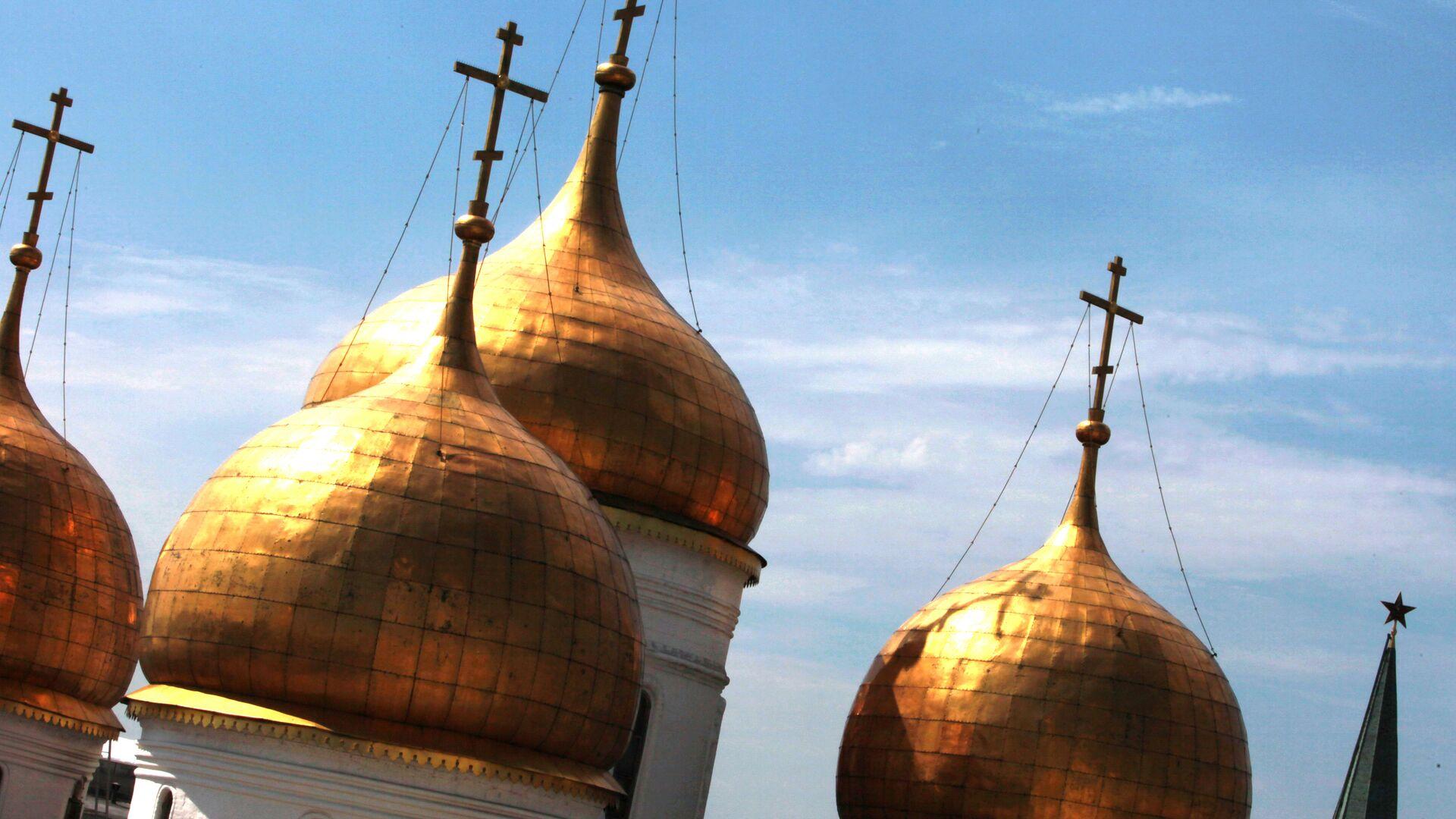 Купола храма - РИА Новости, 1920, 23.06.2021