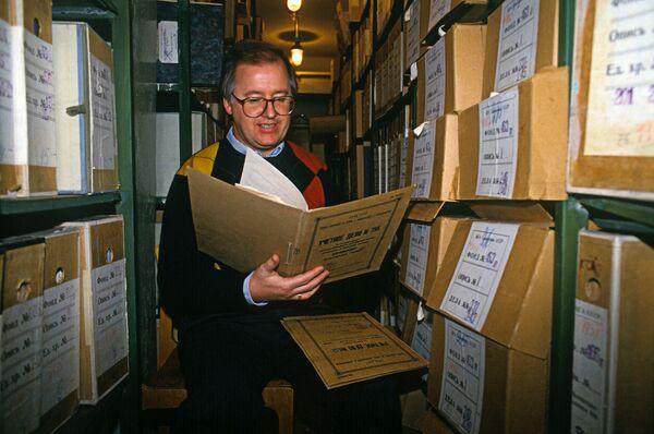 В Российском государственном военном архиве