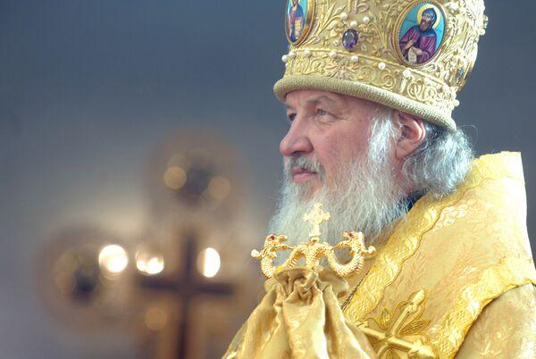 Патриарх призвал служить страждущим