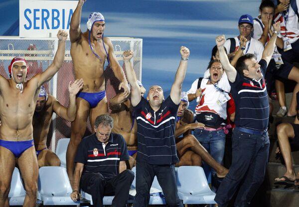 Сербы стали чемпионами мира по водному полу