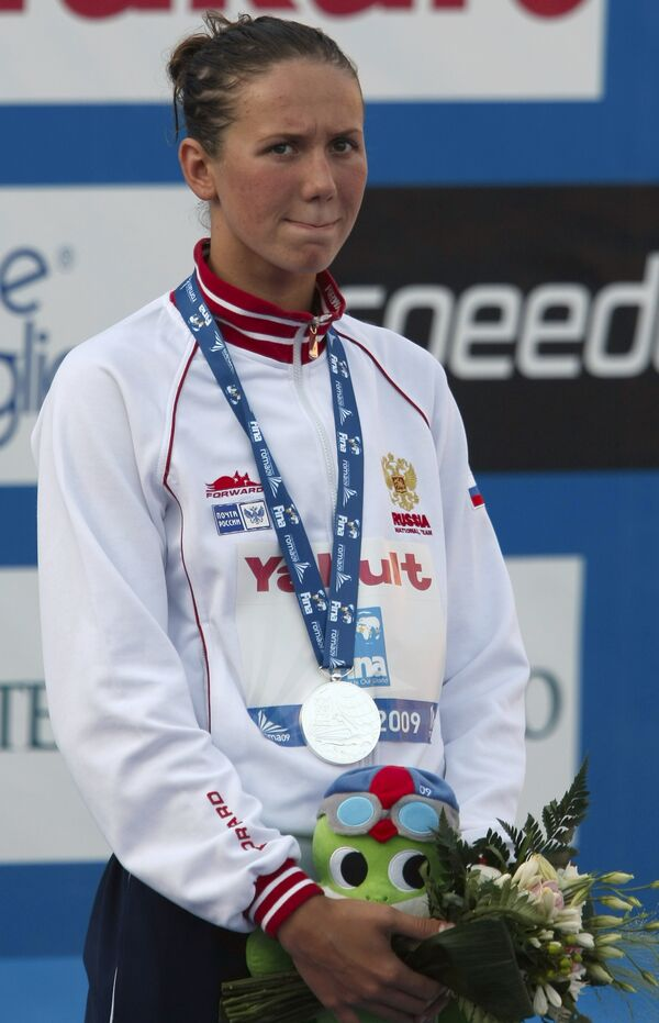 Россиянка Анастасия Зуева