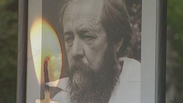Год без Солженицына: панихида в Донском монастыре