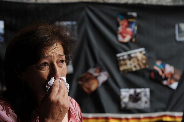 Открытие музея геноцида в Цхинвали