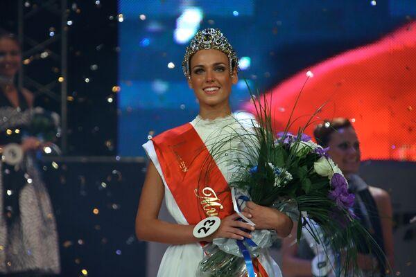 Победительница конкурса Мисс Екатеринбург-2009 Ирина Антоненко