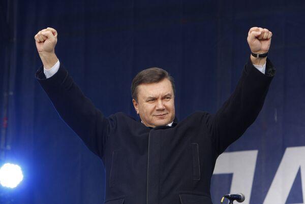 Виктор Янукович: Я построю и укреплю демократию