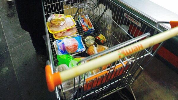 Минимальный набор продуктов в РФ за I квартал подорожал на 6,2%
