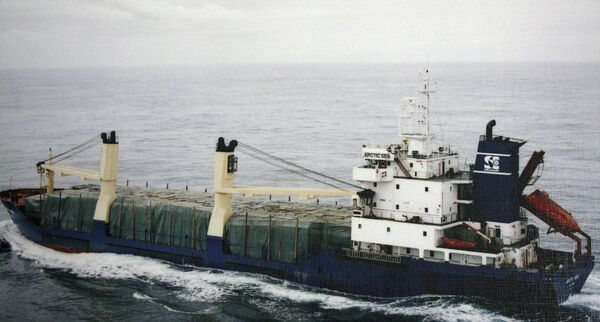 Сухогруз Arctic Sea