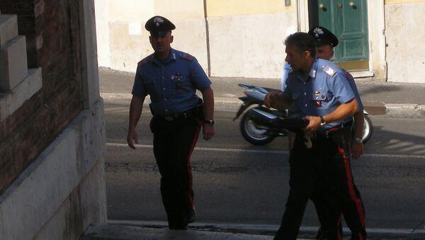 Итальянская полиция. Архив