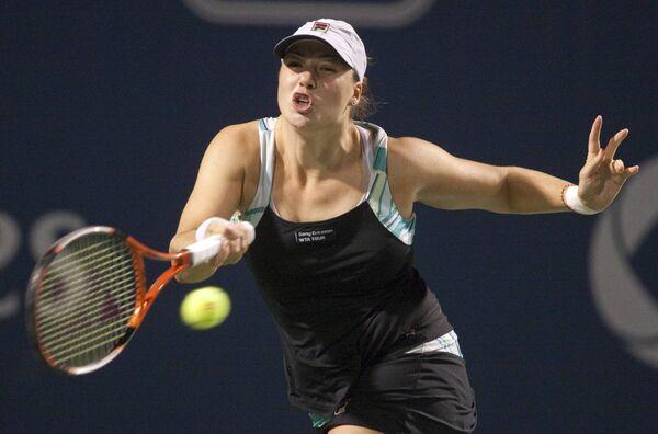 Российская тенниситка Алиса Клейбанова