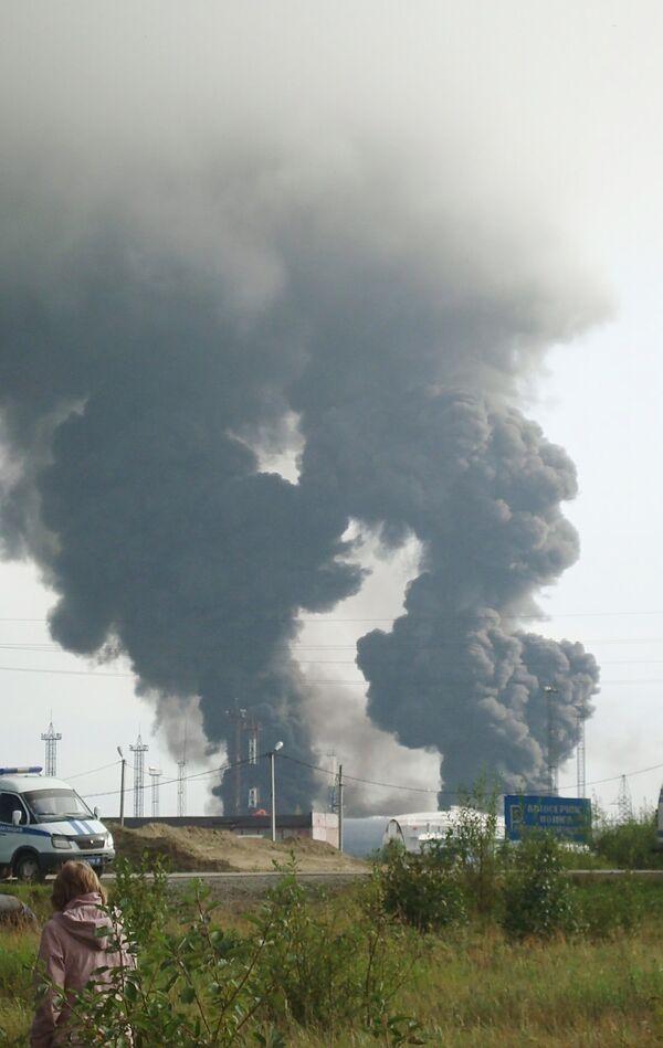 Пожар на нефтестанции в Югре локализован