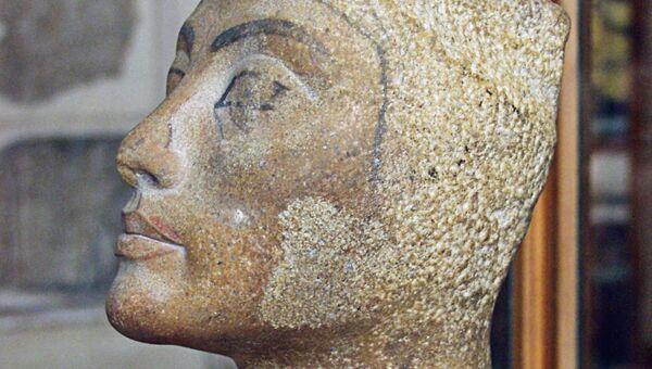 Египетская царица Нефертити, архивное фото