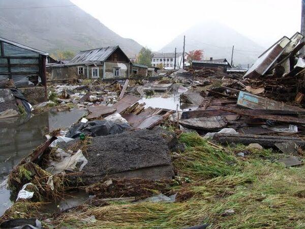 Карамкенская катастрофа. прорыв дамбы водохранилища