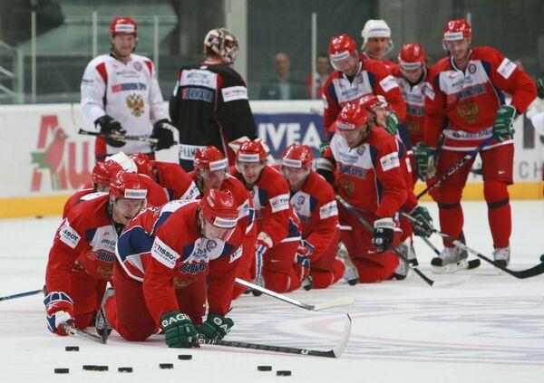 Чехи выиграли у России, став победителями Чешских хоккейных игр