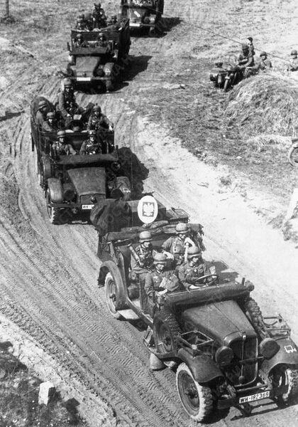 Немецкие войска на территории Польши