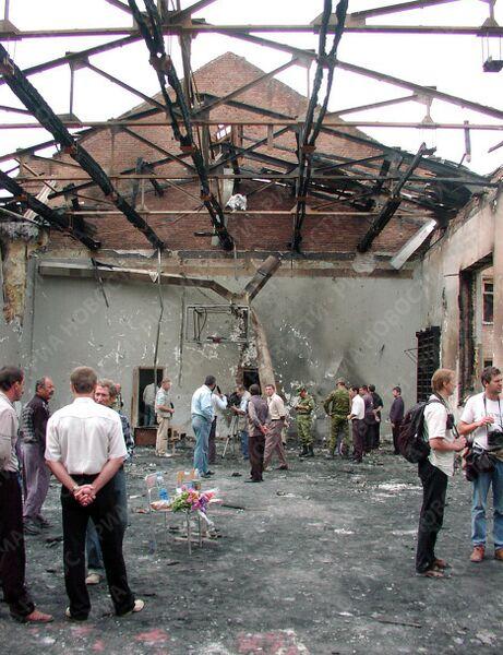 В школе N 1, разрушенной во время теракта