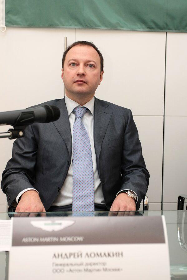 Гендиректор ОАО Астон Мартин Москва Андрей Ломакин задержан в Москве