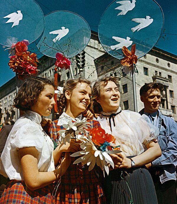 Празднование 1 Мая в Москве