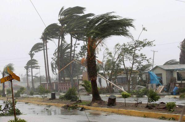 Ураган Рик усилился до пятой степени опасности