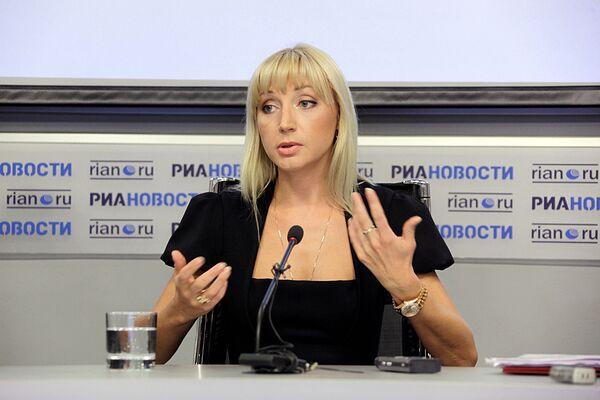 Пресс-конференция Кристины Орбакайте в РИА Новости