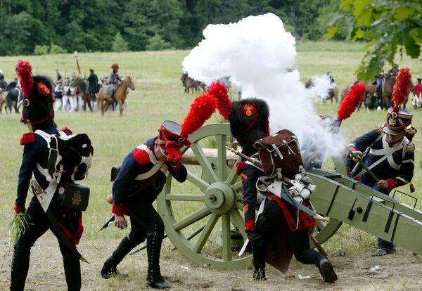 Пушка украдена на реконструкции тирольского восстания против Наполеона