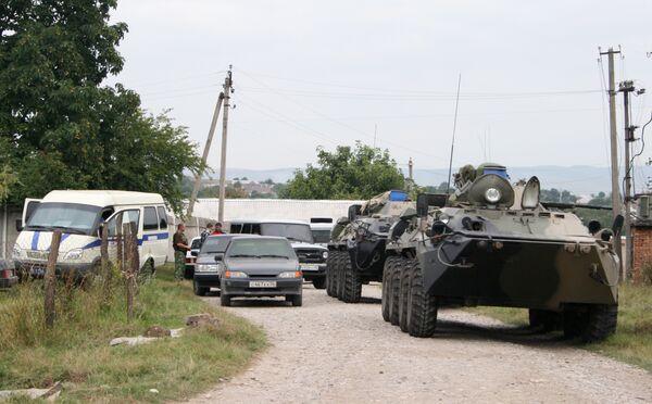 Микроавтобус с криминалистами подорван в Ингушетии