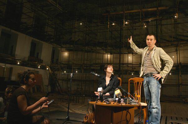 Е.Миронов в Государственном театре наций