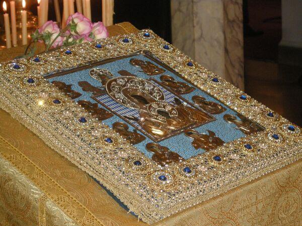 Икона Знамение пробудила веру народа - священник Курской Епархии