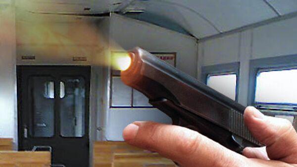 Стрельба в электричке
