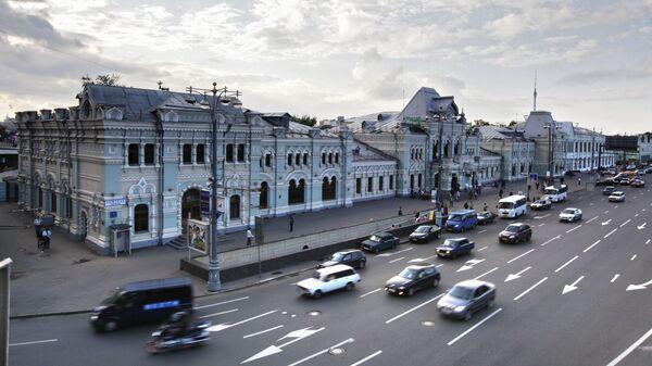 Рижский вокзал. Архивное фото