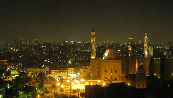 Вид на Каир ночью. Архивное фото
