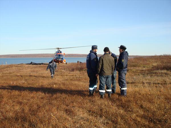 Поиски затонувшего судна в Красноярском крае могут прекратить из-за погоды