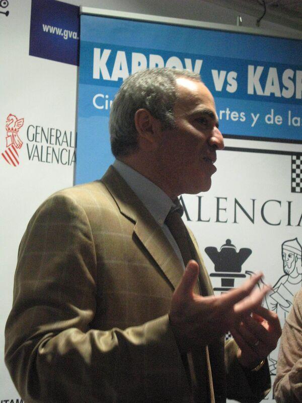 Каспаров одержал победу над Карповым