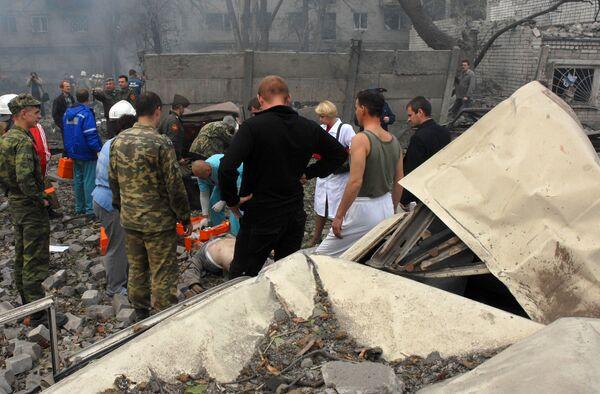 Взрыв на складе пиротехники в Воронеже