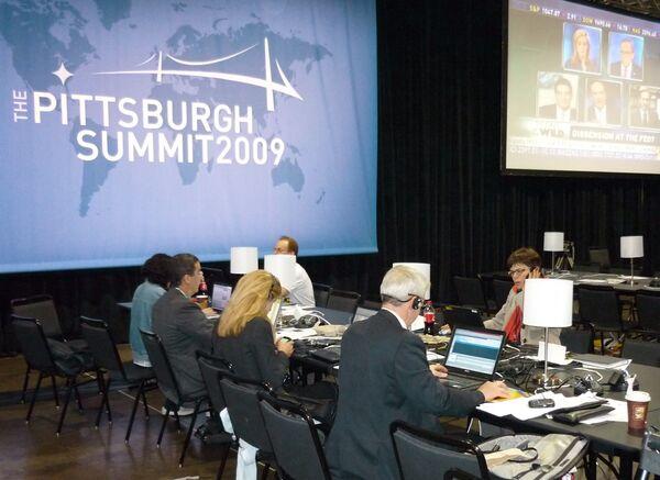 Пресс-центр саммита G20