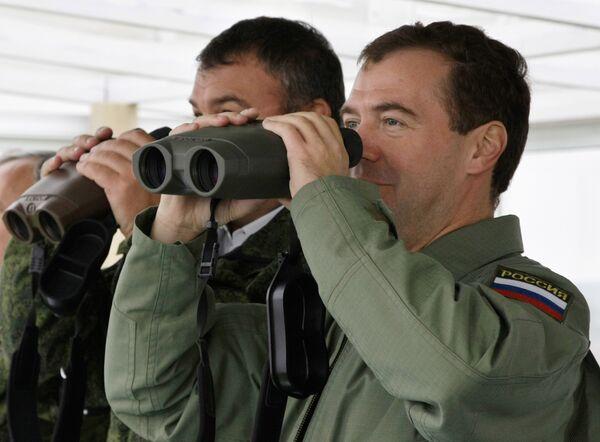 Медведев отмечает союзнический характер отношений РФ и Белоруссии