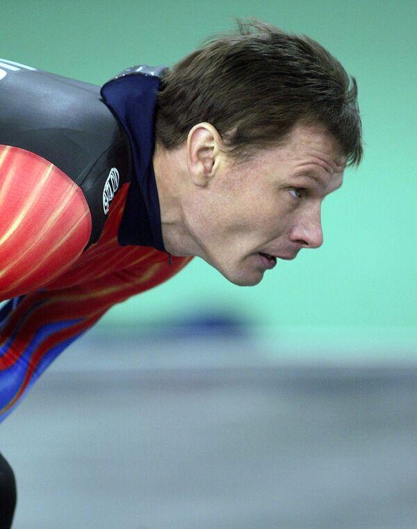 Член сборной России по конькобежному спорту Юрий Коханец