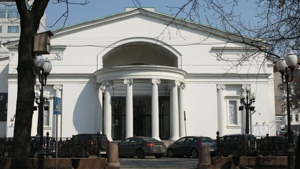Здание театра Современник на Чистопрудном бульваре. Архив.