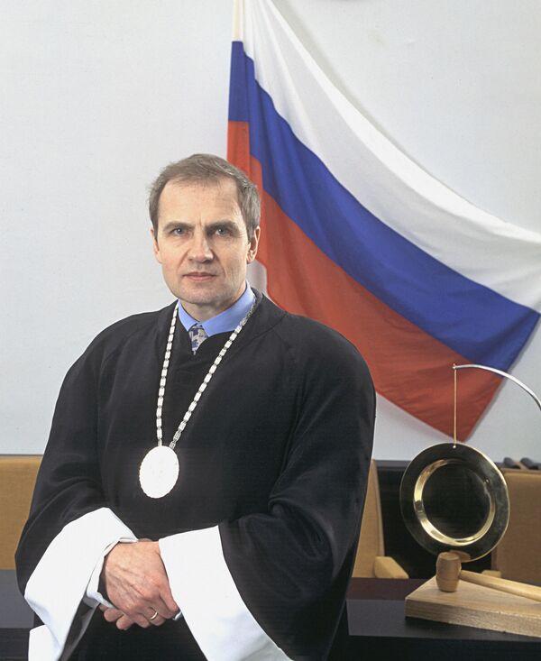 Председатель Конституционного суда РФ Валерий Зорькин. Архив