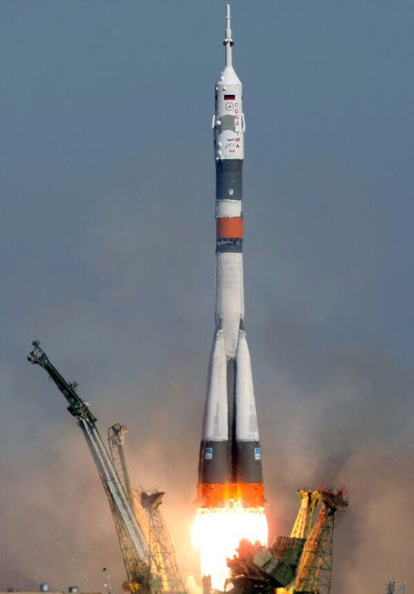 Экипаж Союза ТМА-17 выбрал позывной Пульсар