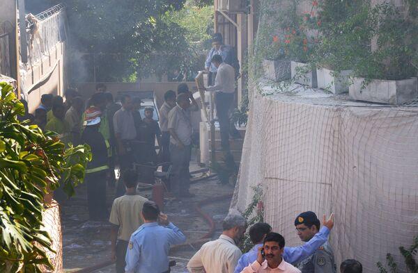 Взрыв прогремел у здания ООН в Исламабаде