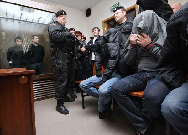 Дорогомиловский суд Москвы огласил приговор по делу членов молодежной группировки Черные ястребы
