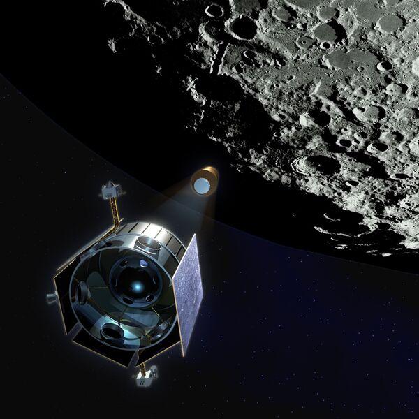 Космические аппараты LRO и LCROSS на пути к Луне